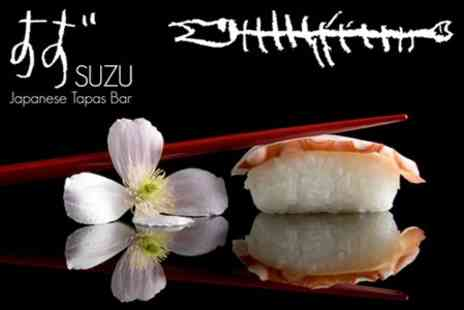 Suzu - Two Hour Sushi Making Class with Plum Wine and Snacks for £22 - Save 54%