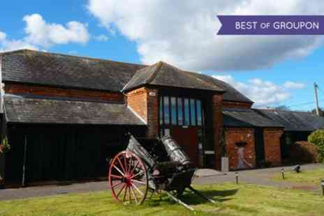 Milton Barns Hotel - One Night Stay For Two With Breakfast and Cream Tea  - Save 0%