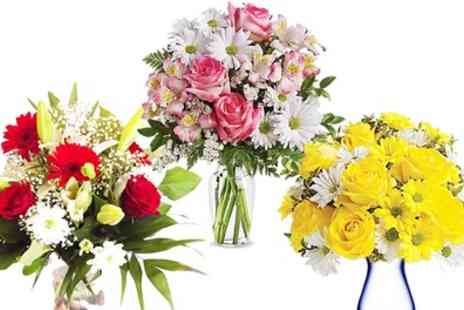 Flower delivery 4 U - Premium Bouquets With Named Delivery and Personal Message - Save 46%