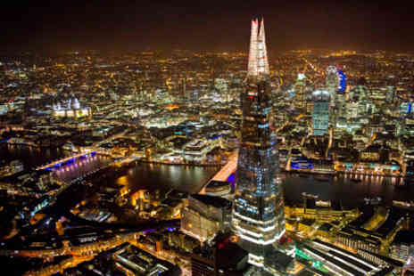 The Shard - The View from The Shard and Thames Lunch Cruise for Two - Save 0%
