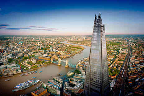 The Shard - Sights of London One Night Break with Visit to The View from The Shard and Marco Pierre White Dining Experience for Two - Save 0%
