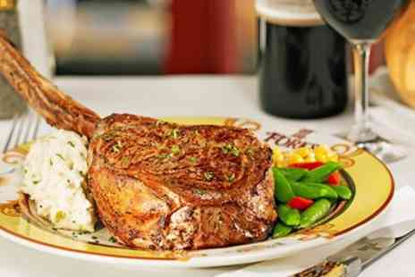 City Cafe  -  City Centre Steak & Prosecco for 2 - Save 41%