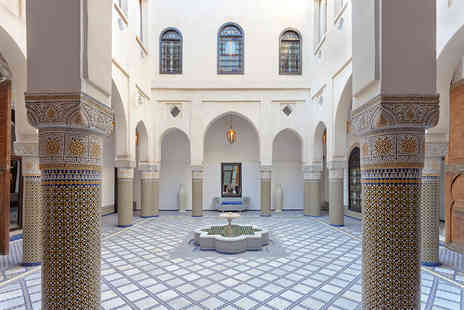 Palais Bahia - Two, Three or Five night Morocco stay for two - Save 50%