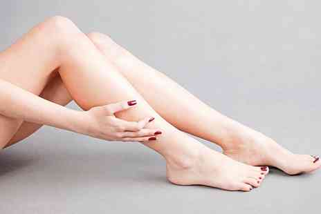 Fit Femmes Ladies Only Gym - Eyebrow Wax with Shellac Manicure, Pedicure or Both - Save 40%