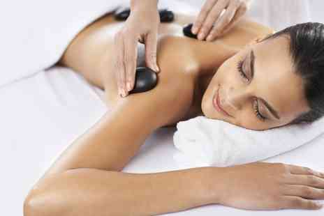 The Crescent Health & Beauty Salon - Aromatherapy or Hot Stone Massage - Save 38%