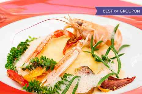 Boisdale of Belgravia - Three Course Meal for One or Two with a Glass of Prosecco Each  - Save 50%