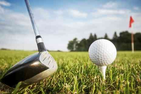 Mowsbury Golf and Squash Centre - 18 Holes of Golf for One or Two - Save 58%