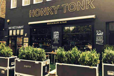 Honky Tonk - Two course American meal for two including a cocktail each - Save 57%