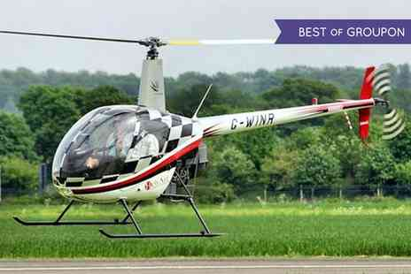 Heli Air - Introductory Helicopter Flying Lesson with Time - Save 40%