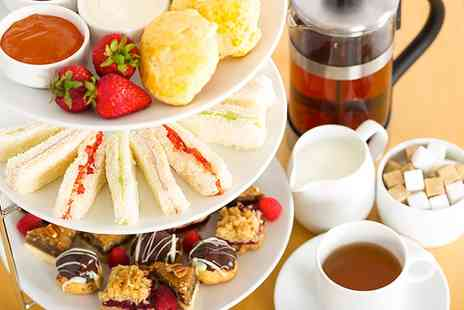 Cafe Amore - Afternoon Tea With Prosecco For Two or Four  - Save 0%