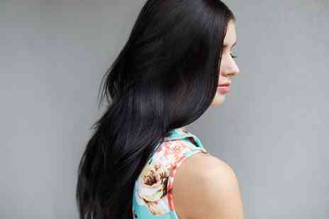 The Hair Salon - Brazilian Keratin Hair Treatment with Optional Cut  - Save 25%