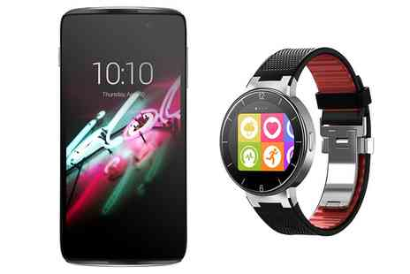 Chitter Chatter - Alcatel Idol 3 on 24 Month EE Contract With Free alcatel Smartwatch, Free Delivery - Save 0%