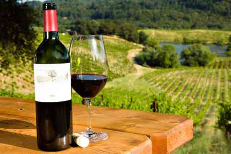 Into the Blue - Vineyard Tour and Tasting for Two - Save 21%