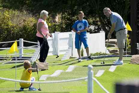 Liverpool Golf Centre - Family Mini Golf with Refreshments - Save 34%