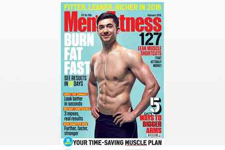 Dennis Publishing - Mens Fitness Magazine One Year Subscription With Free Delivery - Save 50%