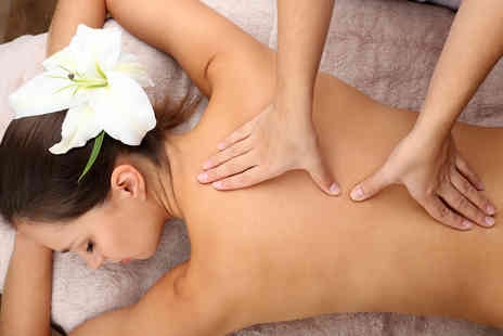 Beauty and the Spa - Aromatherapy back, leg and foot massage - Save 65%