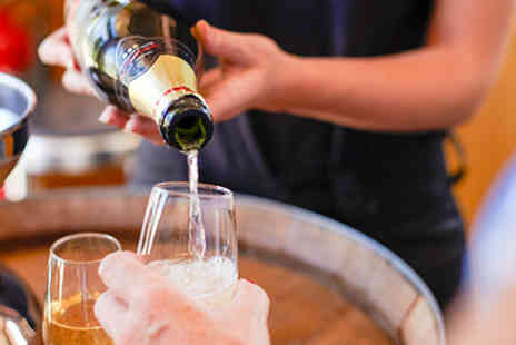 Chapel Down Winery - Vineyard Tour  Wine Tasting and Three Course Dinner with Fizz for Two  - Save 0%