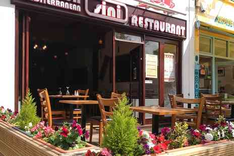 Sini Restaurant - Choice of Meze for Two or Four - Save 51%