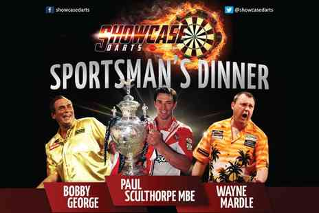 Showcase Darts Exhibitions - Showcase Darts Sportsmans Dinner - Save 32%