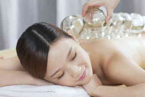 Kneads - 30 Minute Chinese Cupping Session with Optional 30 Minute Full Body Massage - Save 0%