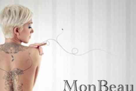 "Monbeau Beauty - Four Sessions of Non Laser Tattoo Removal on 3"" x 3"" Areas - Save 88%"