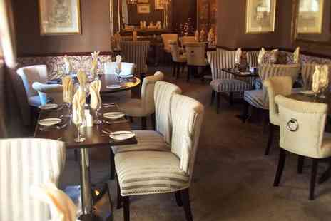 The Griffin Inn - Two Course Meal with a Glass of Wine for Two or Four - Save 48%