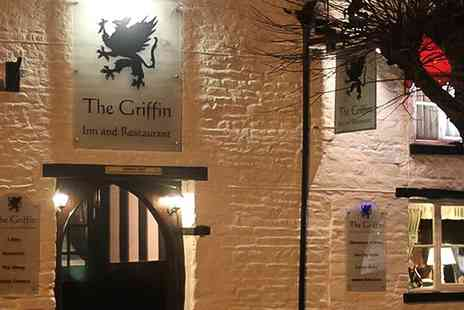 The Griffin Inn - Afternoon Tea with an Optional Glass of Prosecco for Two or Four - Save 0%