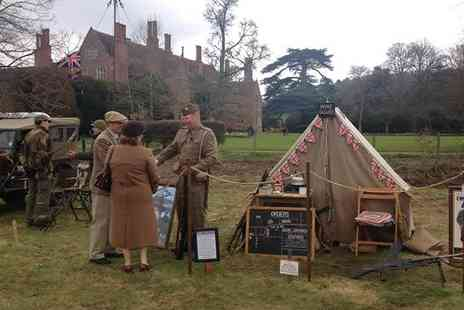 Mapledurham House - Mapledurham at War Tickets for Two Adults or a Family on 16 to 17 April - Save 50%