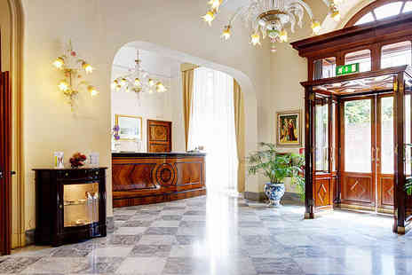 Excelsior Palace Palermo  - Magnificent Art Nouveau hotel in the heart of historic Palermo  - Save 60%