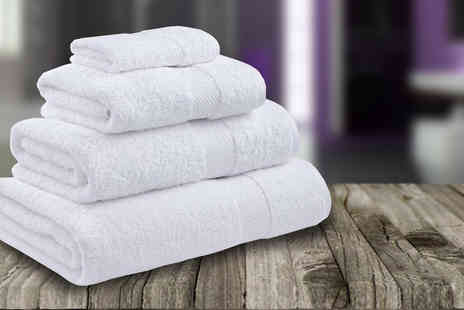 RZK Textiles - Set of 6 Egyptian Cotton Towels - Save 0%