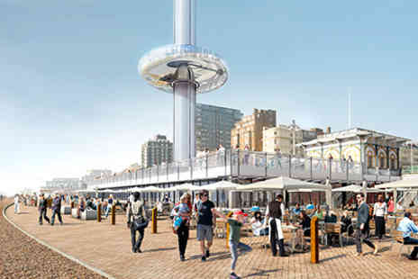 The British Airways i360 - Visit to The British Airways i360 with Three Course Meal and Wine for Two - Save 0%