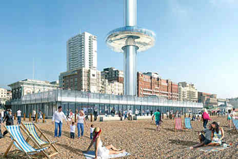The British Airways i360 - Visit to The British Airways i360 and Borde Hill Gardens for Two - Save 0%