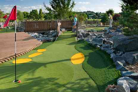 Playgolf - Adventure Golf for Two or a Family of Four - Save 33%