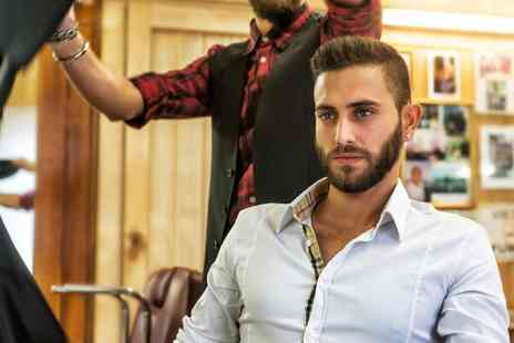 Dappers Barbers - Hot Towel, Shave and Massage, or Wash, Cut and Style, or Hair and Beard Service - Save 40%