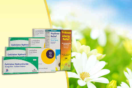 ClearChemist - A three month hay fever bundle including antihistamines, eye drops and nasal spray - Save 75%