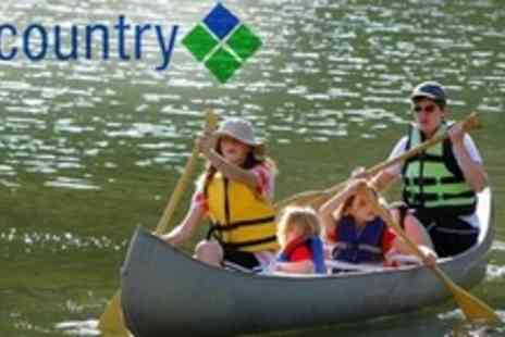 Go Country - Half Day Canoeing Plus Waterpark Access For Two - Save 70%