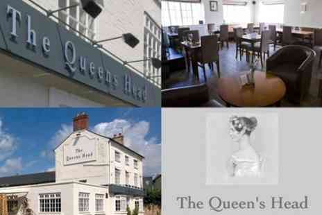 The Queens Head - Overnight Stay For Two With Breakfast and Lunch for £49 - Save 60%
