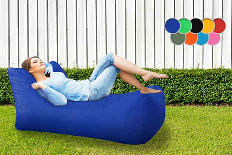 UK Beanbags - Chaise style beanbag for indoor and outdoor use choose from nine colours - Save 68%