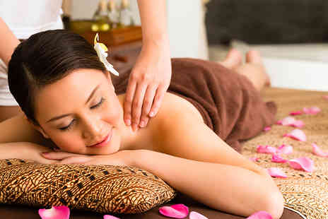 Suprina Salon & Spa - One hour full body massage and a 30 minute facial  - Save 72%