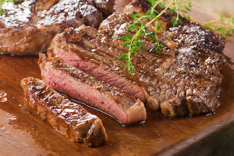 Chopin Grand Cafe - Two course sirloin steak meal for two - Save 46%