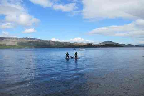 Loch Lomond Leisure Scotland - Two hour paddleboard experience for one  - Save 48%