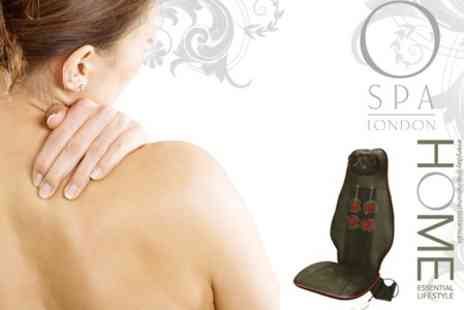 O Spa London - Neck and Waist Massager Cushion £29 - Save 76%