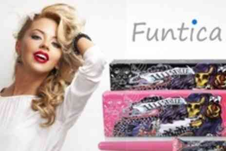 Funtica - HerStyler 13mm Curling Tongs - Save 62%