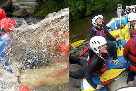 into the blue - 80 Minute White Water Rafting Adventure For Two - Save 0%