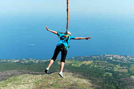 into the blue - Outdoor Bungee Jump at 9 UK Venues - Save 0%