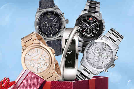 Brand Logic Europe - Mystery Watch for Him or Her from Marc Jacobs, Michael Kors, Armani and More - Save 0%