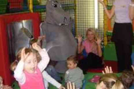 Happy Hippos Playcentre - Three visits to Happy Hippos Playcentre including a jug of juice plus tea or coffee - Save 74%