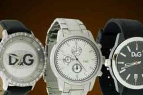 Jewellery Hall - £40 for a £100 voucher to put towards a D&G watch - Save 60%