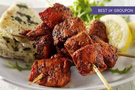 The Red Fort Lark Lane - Three Course Indian Meal with Wine for One, Two or Four - Save 48%