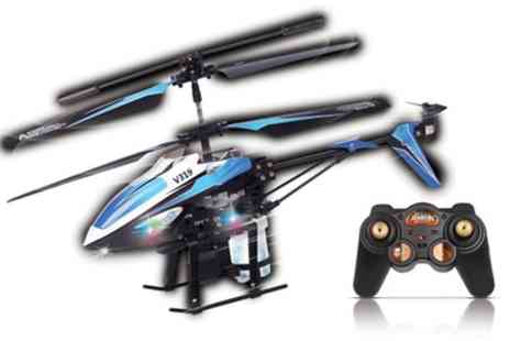 Groupon Goods Global GmbH - Radio Remote Control Water Firing Helicopter - Save 45%